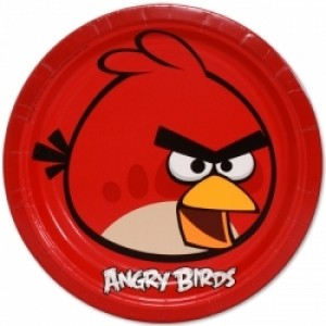 ANGRY BIRDS PLATES